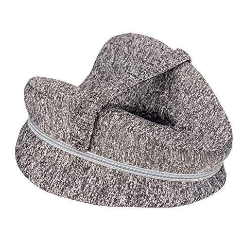EVAYLIOX Cuscino per Ginocchia Dormire, Supporto Ortopedico Postura Ginocchia Gambe Leg Pollow in Memory Foam Cuscino Gambe per Dormire Contro Mal di Schiena e Problemi Posturali