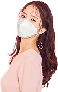 HappyLife Face Mask Made in Korea, White Large (10pcs)