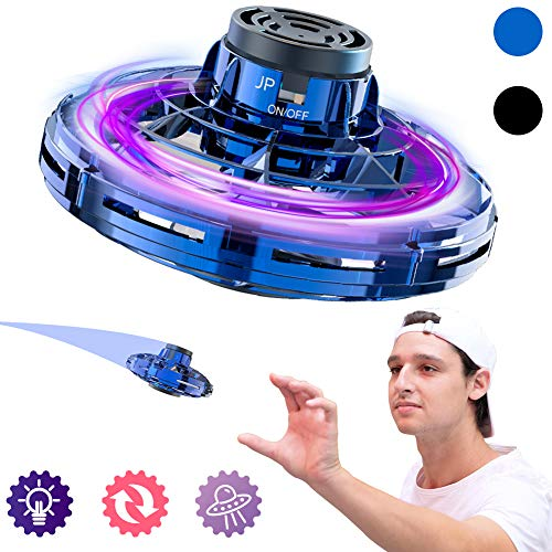 BiMONK Flying Fidget Spinner by Flynova,Boomerang Effect,LED Lights,Perfect Gaming Accessory,Gift for Both Adult & Children,Stress Reliever,Fun Game