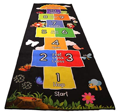 Mambu Essentials Hopscotch Rug - Kids...