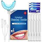 Blanqueamiento dental kit gel, iFanze Blanqueamiento De...