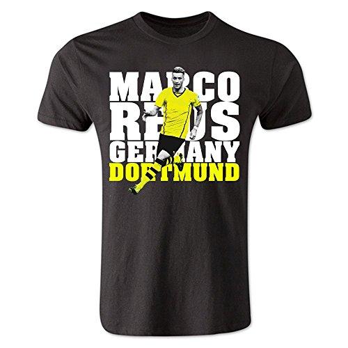 Airosportswear Marco Reus Dortmund Player T-Shirt (Black)