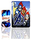 Avengers Boys Polar Fleece Blanket - Red - One Size