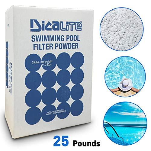 Dicalite DE25BOX 25 LBS Diatomaceous Earth Pool Filter D.E