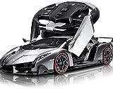 01:10 Cuatro Ruedas detección de la gravedad Oficial coche de deportes de alta velocidad 2.4G con licencia eléctrico remoto regalos de cumpleaños de control Grand Sport Vitesse Stunt Con el LED de far