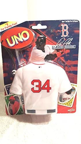 Limited Edition UNO Card Game 2007 David Ortiz Boston Red Sox product image