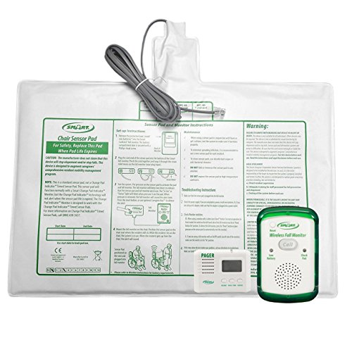Wireless Fall Monitor-10x15-in Chair Pad-Pager Kit