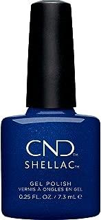 CND Shellac Sassy Sapphire Gel Polish & Shellac Shimmer Blue