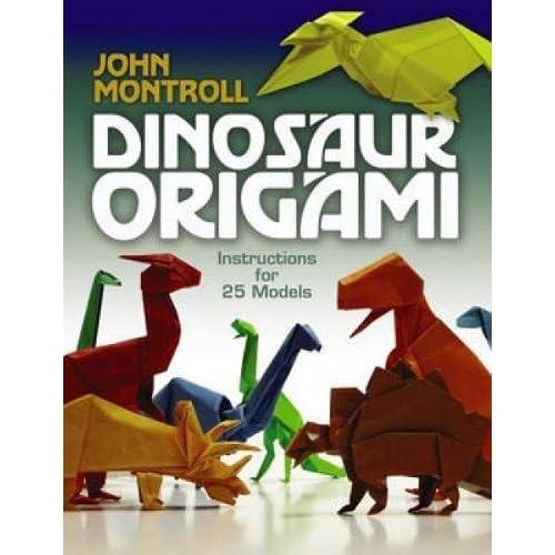 Origami T-Rex by Fernando Gilgado - tutorial - YouTube | 500x500