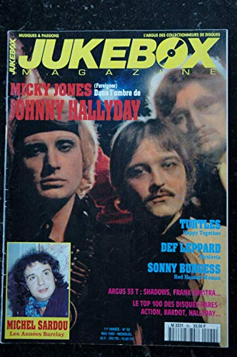 JUKEBOX 92 * 1995 * SARDOU Johnny HALLYDAY TURTLES DEF LEPPARD
