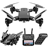 VAIPI S60 Drones with 4K HD Dual Camera for Adults, Remote Control Toys Gifts for Boys Girls with Follow Me Mode, Headless Mode, Altitude Hold and Trajectory Flight Easy to Fly for Beginners