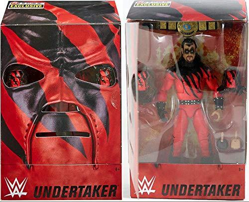 WWE Figur Deadman's Revenge (Undertaker as Kane) Elite Ringside Exclusive 2019