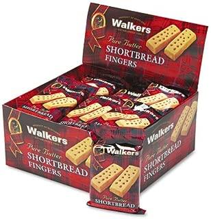 Walkers W116 Shortbread Cookies, 2/Pack, 24 Packs/Box