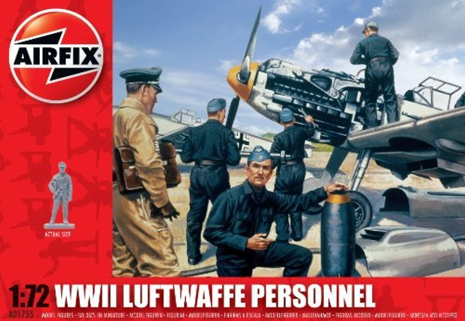 Airfix A01755 WWII Luftwaffe Personnel 1 72 Scale Series 1 Plastic Figures by Airfix