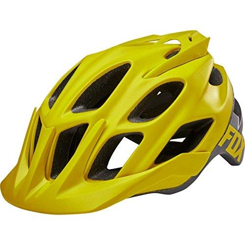 Fox Herren Flux Creo Helm, gelb (Dark Yellow), L/XL