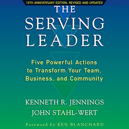 The Serving Leader audiobook cover art