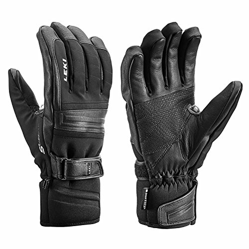 LEKI Prospect S Schwarz, Primaloft Fingerhandschuh, Größe 10.5 - Farbe Black
