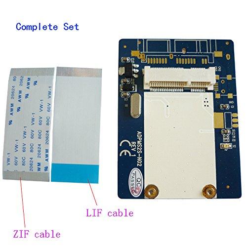 "ZIF to mSATA Adapter 1.8"" ZIF/LIF CE HDD Hard Disk Drive SSD to 26 Pin mSATA Adapter Converter"