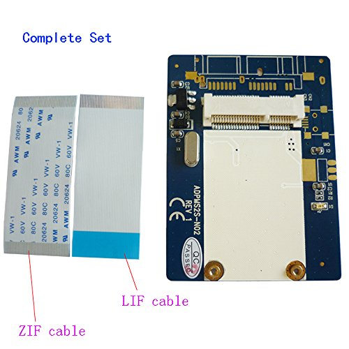 ZIF to mSATA Adapter 1.8