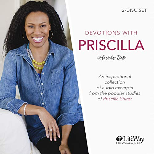 Devotions With Priscilla - Audio CD Volume 2