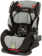 """Designed for your growing child, the all-in-one convertible car seat by safety 1st will take your little one all the way through three different stages Rear-facing 5-40 pounds and 19""""-40"""" Forward-facing: 22-50 pounds and 34""""-45"""" Belt-positioning boos..."""