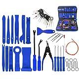 YUOP Juego De Herramientas para El Hogar 43PCS / Set Herramienta De Desmontaje del Coche Desmontaje, Instalación Y Desmontaje para El Interior De La Decoración De Audio del Salpicadero