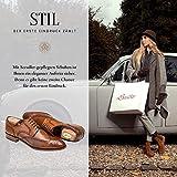 SEEADLER® Premium Schuhspanner - St. John Edition aus kanadischen Zedernholz für Herrenschuhe- 40 EU - 3