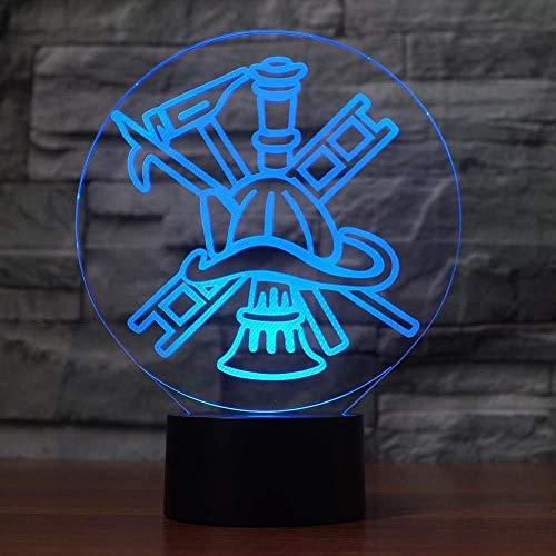 luces led de colores luz quitamiedos recargable Fight ols Carga por USB del tacto de 7 colores del partido de la fiesta de la decoración del regalo de cumpleaños de los niños