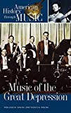 """book cover: """"Music of the Great Depression"""""""