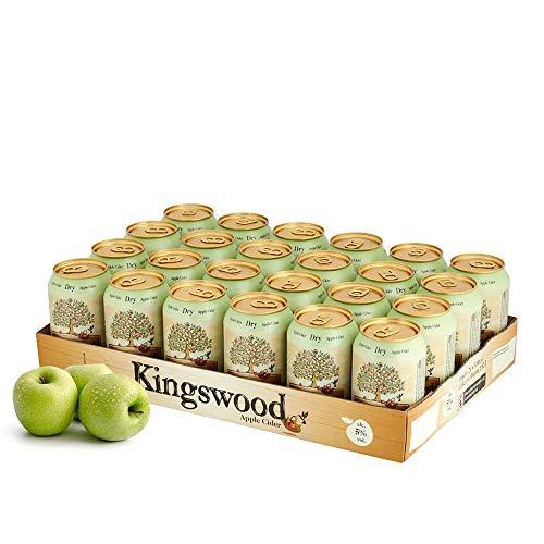 Kingswood Dry (weniger süß) Cider Palette (24 x 330ml)