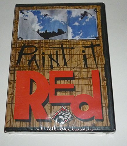 Paint it Red Snowboarding Snowboard Dvd