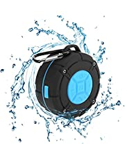 Shower Speaker Waterproof IPX7 Bluetooth Speaker with Suction Cup & Hook - Shower Radios, Waterproof Speaker with Louder HD Sound for Bathroom, Pool, Beach, Outdoor