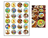 24 Winnie the Pooh edible cupcake toppers - Winnie the Pooh cake decoration