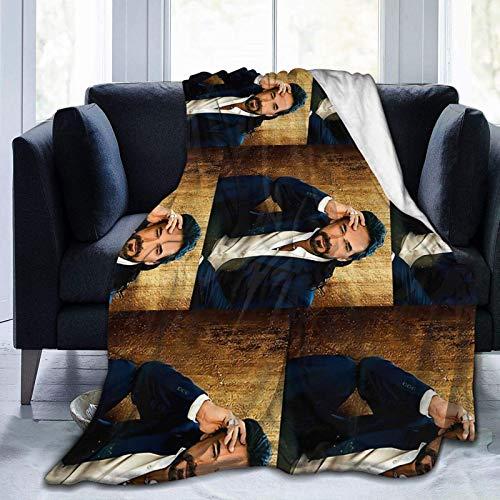 Shichangwei pra3 Marco Antonio tiwi Solis Norma Tour 2020 Decke Decken Geeignete ultraweiche Bettwäsche Fleecedecke für Schlafsofa Büro 60 'x 50' Reise Multi-Size für Erwachsene
