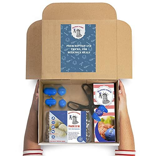 MEATBALL MARKER LC048 Set Utensilios DE Cocina Kit 7 PCS, Plástico