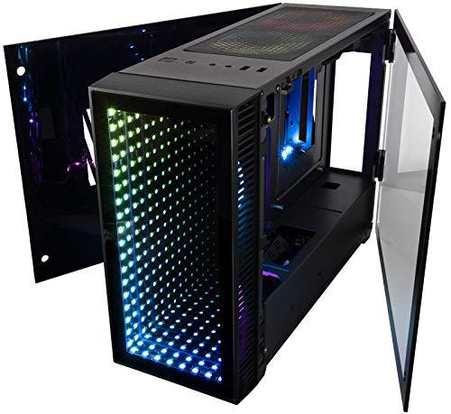 CUK Continuum Mini ITX Gaming Barebone Desktop Case with Liquid CPU Cooler and 650W Power Supply Installed
