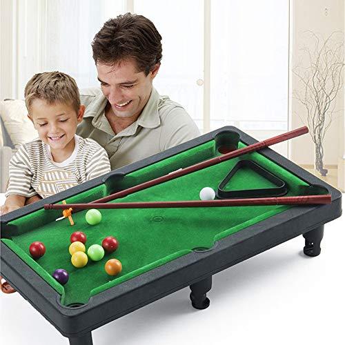 CMXX Mini-Billard-Spielzeug-Set, Neuheit Mini-Desktop-Billardtisch Billard-Tabletop-Pool-Spielzeug-Spiel-Set Eltern-Kind-Interaktion Kinder-Lernspielzeug
