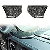Voodonala for Jeep JL JT Speaker Audio A Pillar Trim for 2018-2020 Jeep Wrangler JL JLU Gladiator JT...