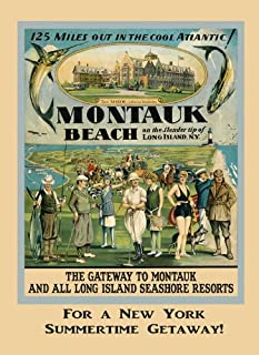 Gateway to Montauk Beach Long Island New York Fishing Golf Sport Tennis Swim Fox Hunting Polo Travel Tourism 16
