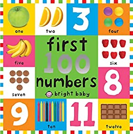 First 100 Board Books First 100 Numbers by [Roger Priddy]