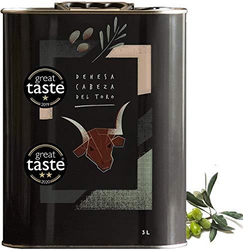 3L - DEHESA Kräftiges Natives Olivenöl Extra - Frühe Ernte - Reinsortig - Olivenöl für Jeden Tag