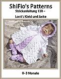 Strickanleitung  – KP138 - Babykleid, Jacke, Hut und Booties