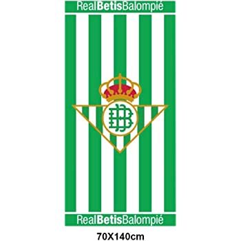 Toalla de playa algodón R Real Betis balompié 500gr: Amazon.es: Hogar