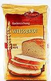 Küchenmeister Weissbrot Backmischung mit Hefe, 6er Pack (6 x 500g)