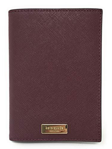 Kate Spade Laurel Way Saffiano Leather Passport Holders (Cherrywood)