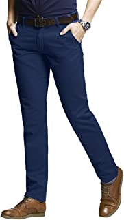 Men's Slim Tapered Stretchy Casual Pants