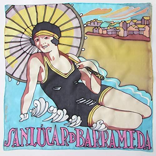 Bandana de seda Mujer con sombrilla