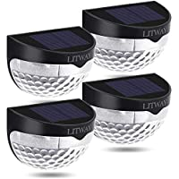 4-Pack KBP LED Wireless Solar Outdoor Courtyard Lamp