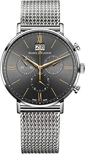 Maurice Lacroix Eliros EL1088-SS002-812-1 Herrenchronograph Großdatum