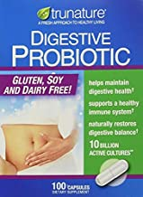 TruNature Digestive Probiotic Capsules, 1Pack (100 Count Each) zK$KJf